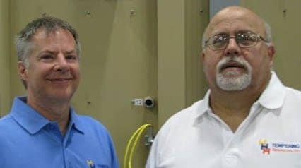 HHH Tempering Founders Keith Hunt and John Haws