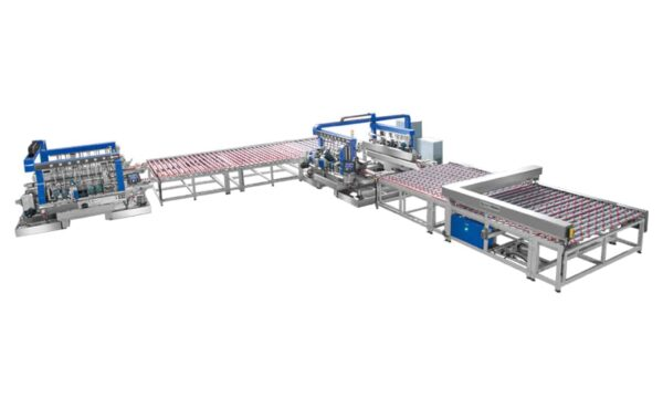 Super Speed Automatic Double Edger Line from HHH Tempering