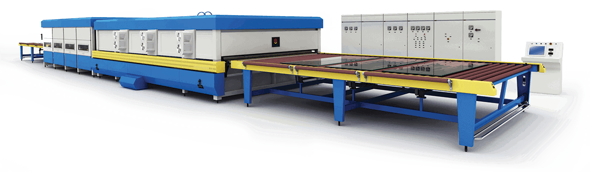 Glass tempering furnaces |