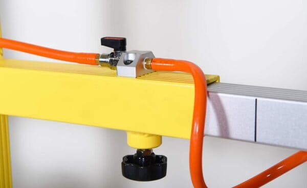 Close up of standard glass vacuum lifter KSAF-01 from HHH Tempering Resources