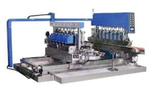 SYM Glass Straight-line double round edging machine from HHH Tempering