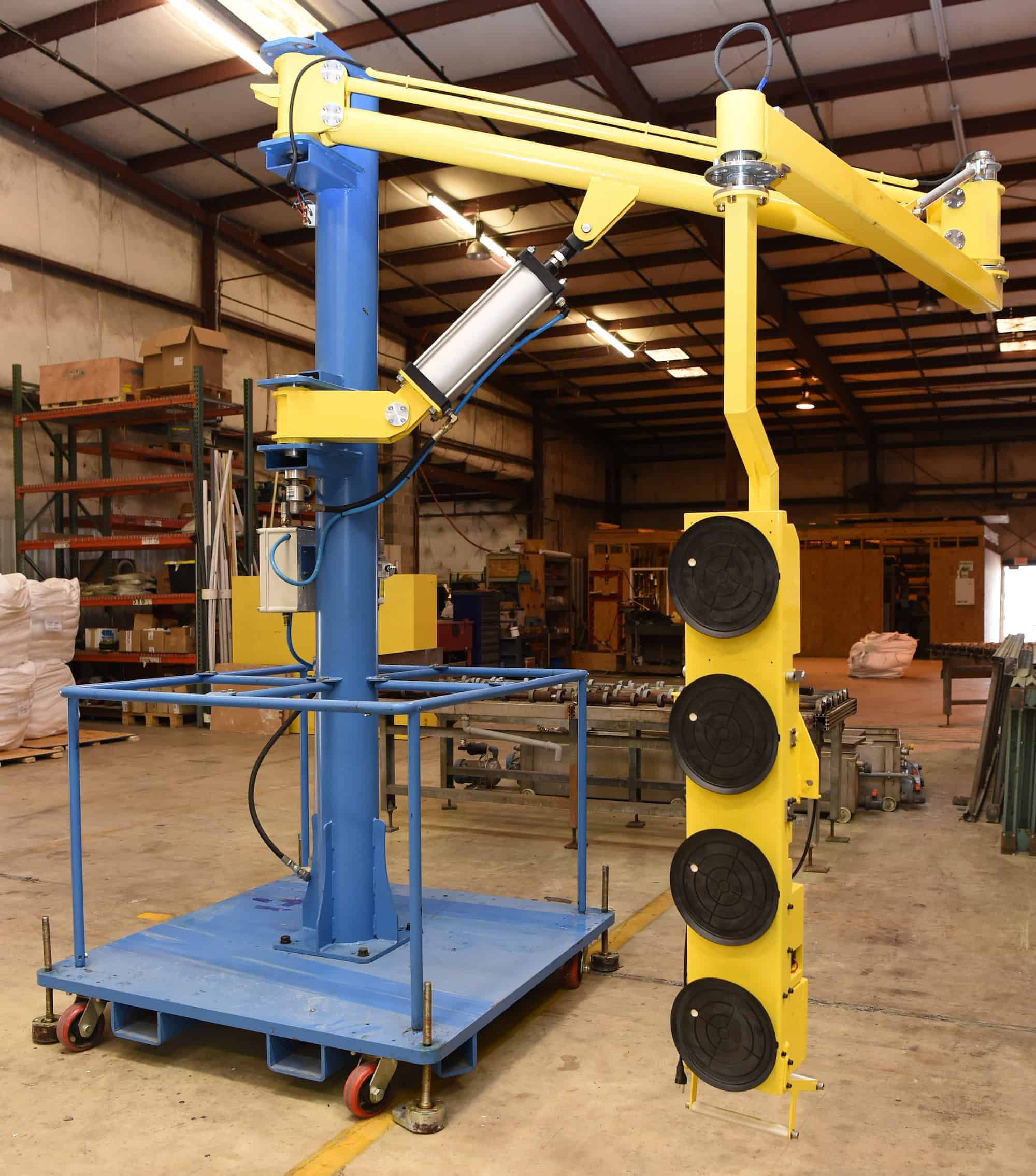 Glass Lifting Equipment from HHH Tempering