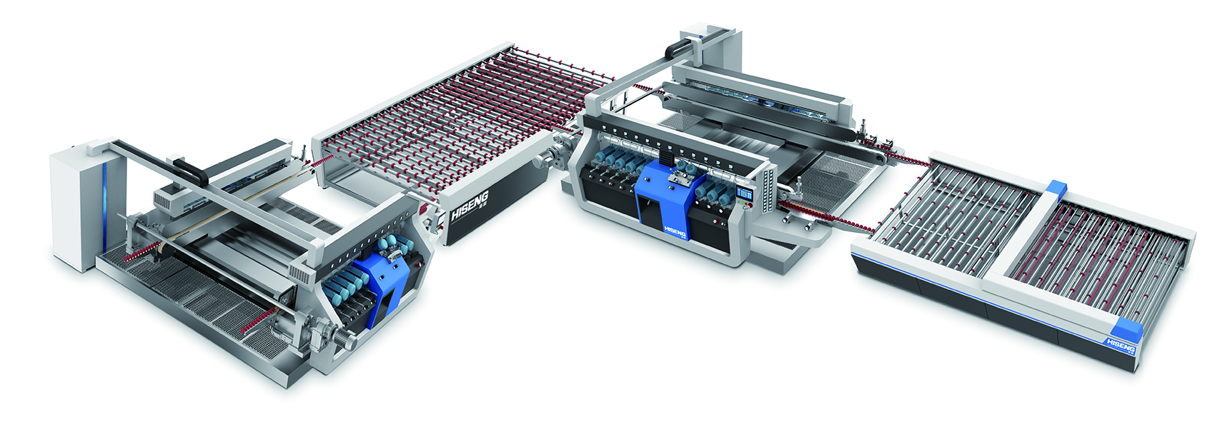 Glass Edging Machines From Hiseng Hhh Tempering Recourses