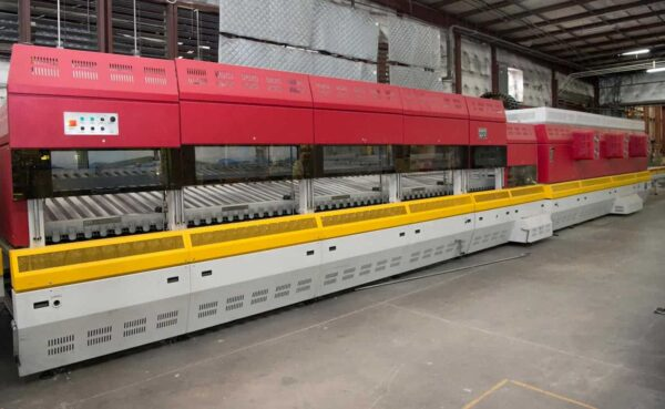 Back view AU Glass Tempering Furnace from HHH Equipment Resources