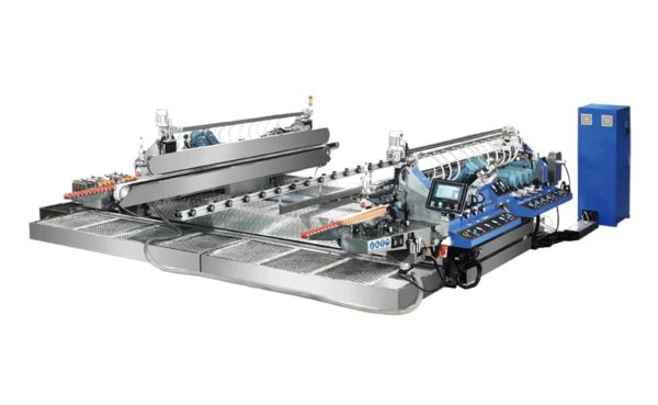 HSD Glass Straight-Line Double Edging Machine from HHH Tempering Resources