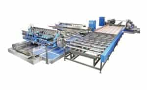 HDS Glass Straight-Line Double Edger Line from HHH Tempering Resources