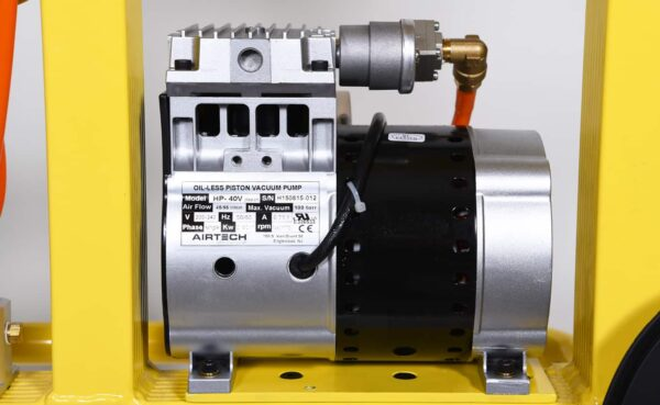 Standard Glass Vacuum Lifter KSAF-04 Vacuum Pump from HHH Tempering Resources