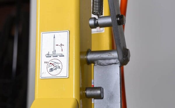 Standard Glass Vacuum Lifter KSHSN-50606 Manual Rotation from HHH Tempering Resources