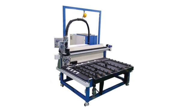 Hot melt sealing machine from HHH Tempering Resources