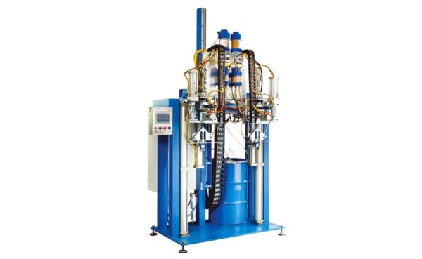 Two head desiccant filling machine from HHH Tempering Resources