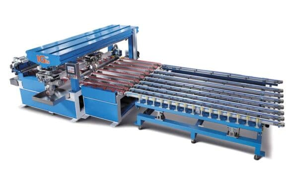 4-edge horizontal glass grinder from HHH Tempering Resources