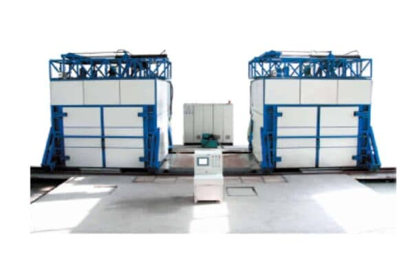 Chemical Tempering Glass Furnace front view