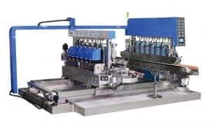 Hiseng SYM Glass Straight Line Double Peripheral Edging Machine