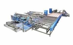 Hiseng HSD Glass Straight Line Double Edger Line